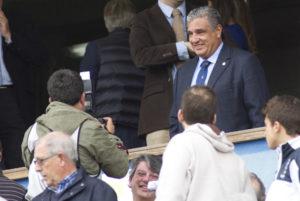 Víctor Hugo Mesa, nuevo dueño del Recreativo de Huelva. (J. Pérez)