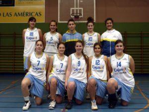 Club Baloncesto Conquero junior.