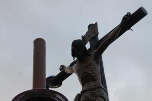 El Cristo de la Sangre en la Alameda Sundheim.