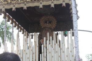 La Virgen del Valle en el final de la calle Federico Mayo.