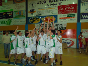 Memorial Toni Beltrán de baloncesto en La Palma.