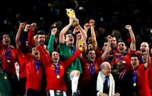 Selección Española, vigente campeona del Mundo.