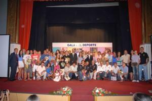 Gala Deporte Ayamonte 2011.