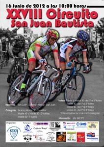 Cartel Circuito Ciclista San Juan Bautista.