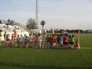 Escuelas Deportivas Municipales de Paterna del Campo.