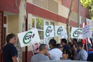 Imagen de archivo de una protesta convocada por el CSIF.