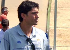 Juan Manuel Pavón, técnico del Recreativo juvenil.