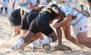 Torneo de rugby-playa.