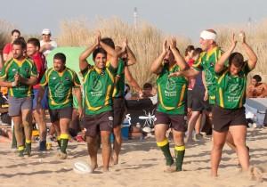 Tercera edición del torneo de rugby playa.
