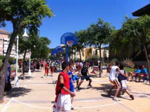 Circuito provincial de baloncesto tres por tres.