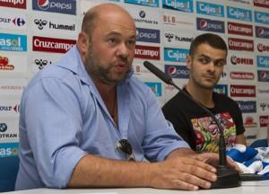 El presidente del Recreativo de Huelva, Pablo Comas.