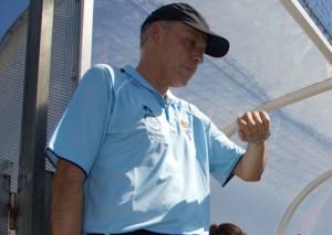 Antonio Toledo, entrenador del Cajasol Sporting Universidad.