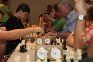 Open de ajedrez.