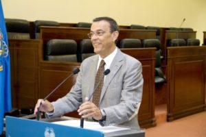 Imagen de archivo de Ignacio Caraballo, en una rueda de prensa.