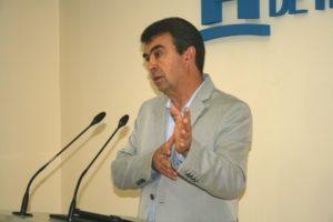 José Martín, portavoz del PSOE en la Diputación.