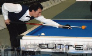 Jaime Faraco, jugador de billar.