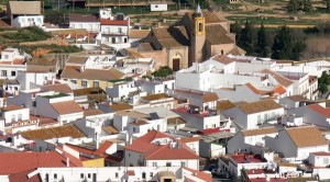 Vista aérea de Palos de la Frontera. (Rodolfo Barón)