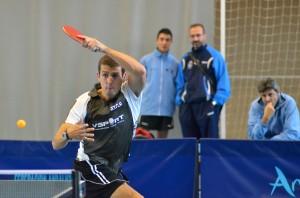 Adrian Robles, jugador de tenis de mesa.