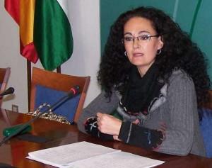 Lourdes Martín, delegada de Bienestar Social y Salud.