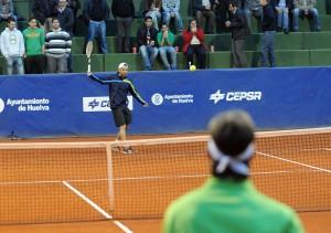 Encuentro de las semifinales de la Copa del Rey de Tenis 2012.