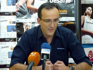 Gabi Carrasco, técnico del Toyota Recreativo Conquero.