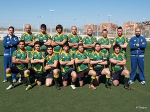 Plantilla del Tartessos de rugby.