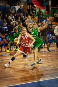 Tanya Broring, jugadora del CB Conquero.