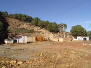 Pozo de la Mina de Sotiel Coronada.