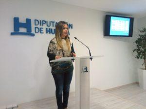 Rocío Cárdenas en rueda de prensa.
