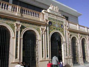 Fachada del teatro Felipe Godínez.