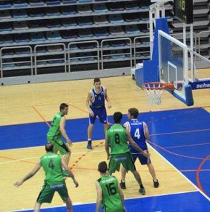 Partido entre el CD Huelva y AD Ayamonte.