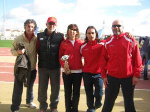 Corredores del Club Correcaminos de La Palma.