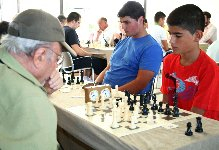 Campeonato Provincial de Ajedrez en Cartaya.