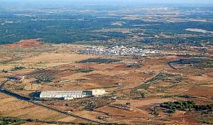 Vista aérea de La Redondela. (Rodolfo Barón)