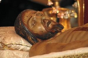 Imagen del Cristo del Santo Entierro. (Foto: Celia HK)