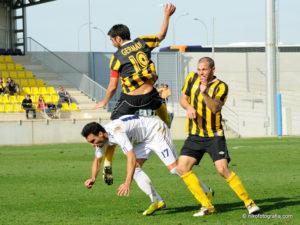 Partido de esta temporada entre el San Roque y el UCAM Murcia.