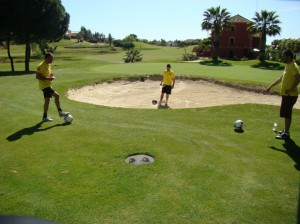 Footgolf en Islantilla.