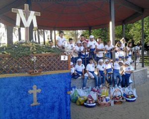 Cruz de Mayo solidaria en Cartaya.