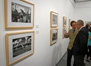 Exposición con las fotos más destacadas del año en el Museo Provincia. (Julián Pérez)