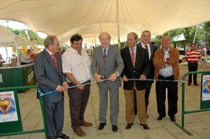 Inauguración oficial de la Feria de la Gamba de Huelva.