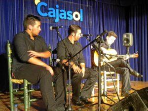 Clausura del certamen de jóvenes flamencos de Cajasol.