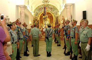 La presencia de la Legión es una una tradición en La Palma.