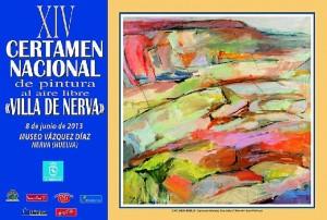 Cartel del certamen en Nerva.