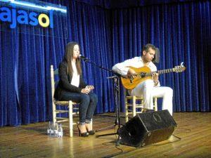 Actuación en la segunda jornada del ciclo de jóvenes flamencos.