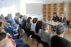 Conferencia de Fiscal en el colegio Funcadia.