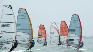 Copa de España de windsurfing.