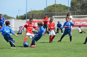 Torneo Cepsa de fútbol 7 prebenjamín.