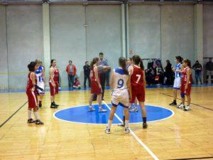 Fase infantil femenina de baloncesto