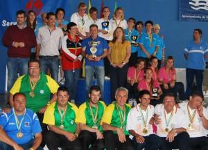 Campeones del Campeonato de España de petanca.