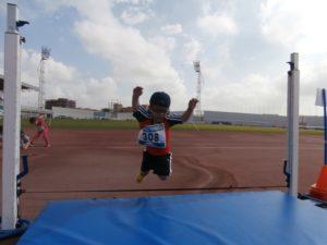 Encuentro de atletismo del CEIP Tres Carabelas.